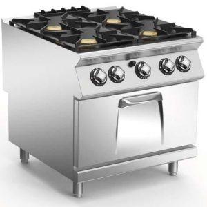 Cucina a gas serie 900 Mareno